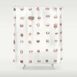 boobs Shower Curtain