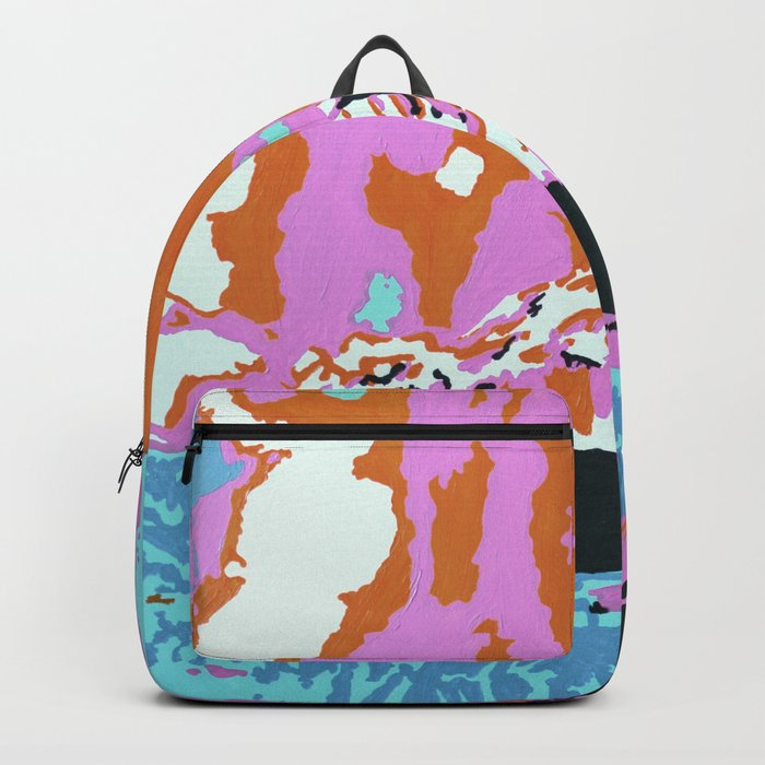 Liquid Sunshine In The Mountains Backpack