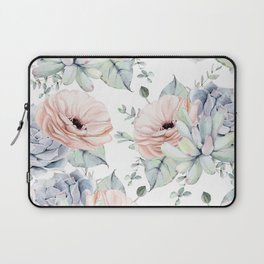 Pretty Succulents by Nature Magick Laptop Sleeve