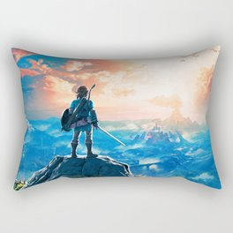 Zelda Breath of the Wild Rectangular Pillow