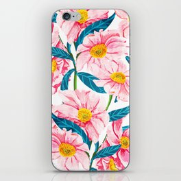 Pink Floral || iPhone Skin