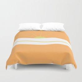 """"""" Orange days """" Duvet Cover"""