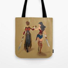 Heroines Unite Tote Bag