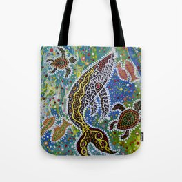 The Whale's Awakening Tote Bag