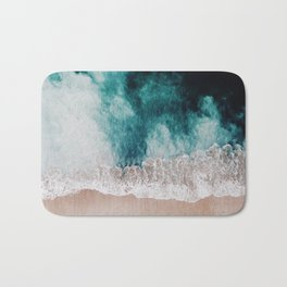 Ocean (Drone Photography) Bath Mat
