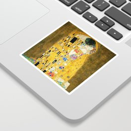 Gustav Klimt The Kiss Sticker