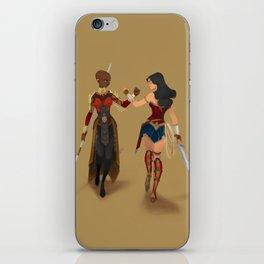 Heroines Unite iPhone Skin