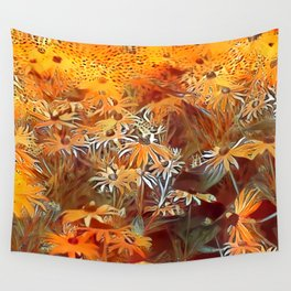 Atomic  Field Wall Tapestry
