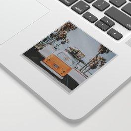 lets surf / venice beach, california Sticker