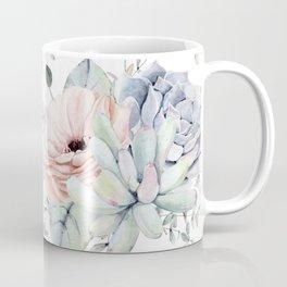 Pretty Succulents by Nature Magick Coffee Mug